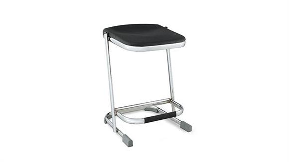 """Drafting Stools National Public Seating 22"""" Stool with Blow Molded Seat"""