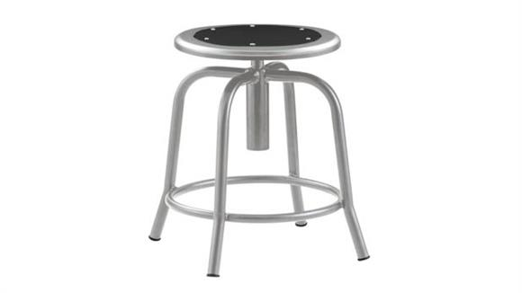 Drafting Stools National Public Seating Adjustable Height Stool With Metal Seat