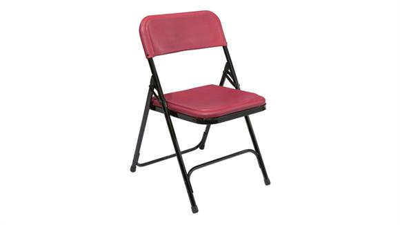 Folding Chairs National Public Seating Premium Lightweight Folding Chair