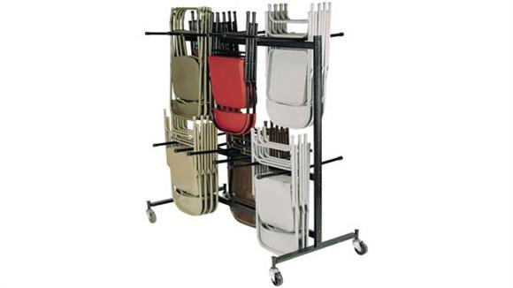 Folding Chairs National Public Seating Folding Chair Dolly