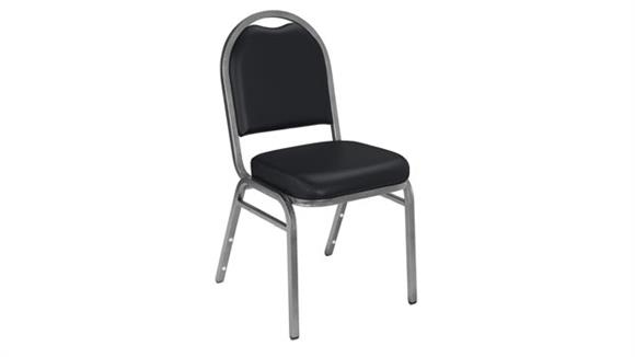 Stacking Chairs National Public Seating Dome Back Vinyl Stack Chair