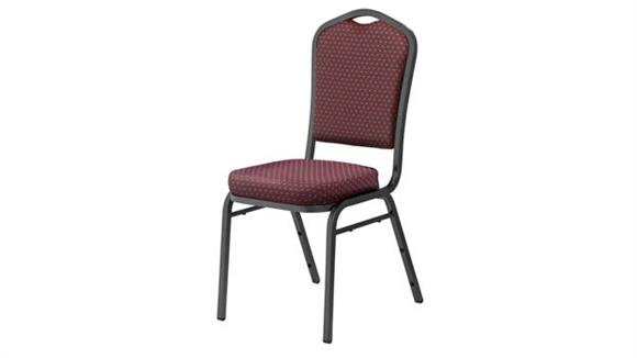 Stacking Chairs National Public Seating Fabric Padded Stack Chair