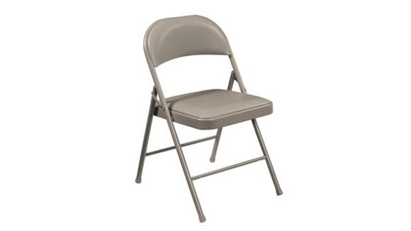 Folding Chairs National Public Seating Vinyl Upholstered Commercialine Folding Chair