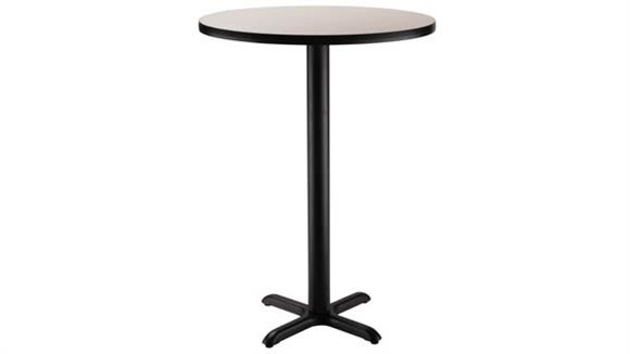 "Pub & Bistro Tables National Public Seating 30"" Round x 42""H -"