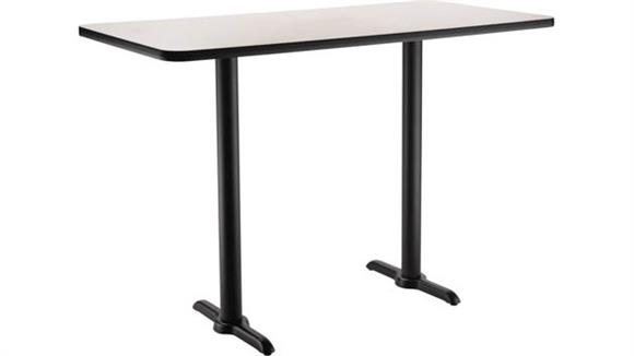 "Pub & Bistro Tables National Public Seating 30""W x 60""D x 42""H -"