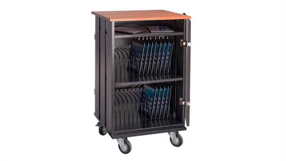 Storage Cabinets National Public Seating Tablet Charging / Storage Cart