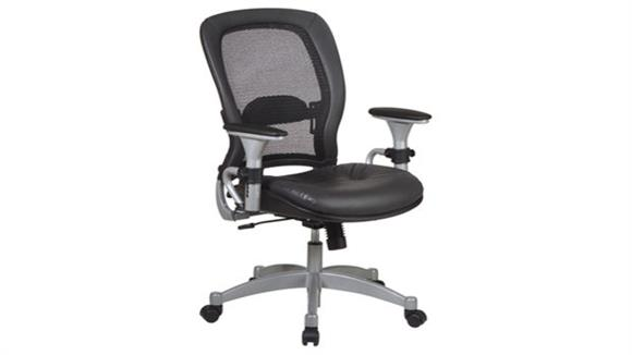 Office Chairs Office Star Professional Leather Matrex Back Chair