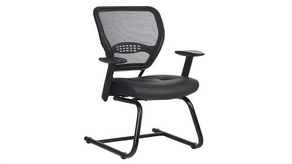 Office Chairs Office Star Professional Air Grid Back Sled Base Chair