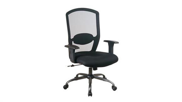 Office Chairs Office Star Screen Back Chair with Mesh Seat