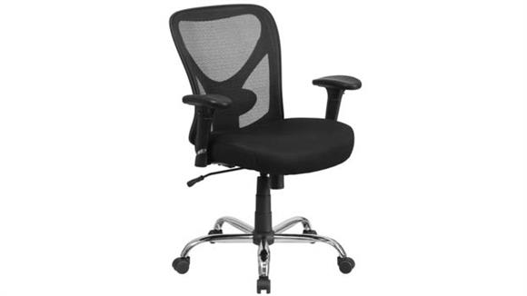 Office Chairs Innovations Office Furniture Big & Tall Black Mesh Swivel Chair