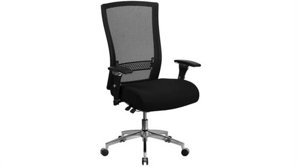 Big & Tall Innovations Office Furniture Big & Tall High-Back, Executive Swivel Chair