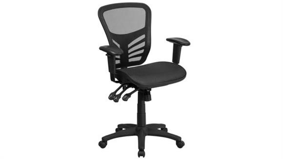 Office Chairs Innovations Office Furniture Mid-Back Mesh Multi-Function Swivel Chair