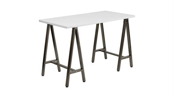 Computer Desks Innovations Office Furniture Computer Desk with Brown Frame