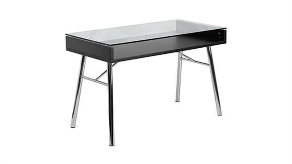 Computer Desks Innovations Office Furniture Bretford Desk with Tempered Glass Top