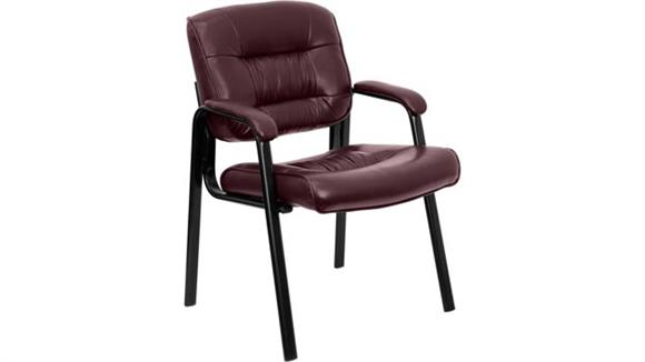 Side & Guest Chairs Innovations Office Furniture Leather Guest Chair