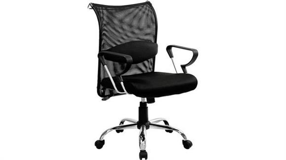 Office Chairs Innovations Office Furniture Mid Back Managers Chair with Mesh Back and Seat