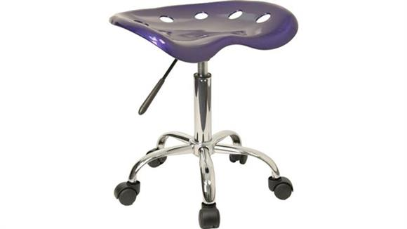 Drafting Stools Innovations Office Furniture Vibrant Deep Blue Tractor Seat And Chrome Stool