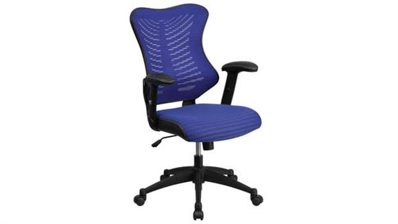 Office Chairs Innovations Office Furniture High-Back Executive Swivel Chair with Adjustable Arms