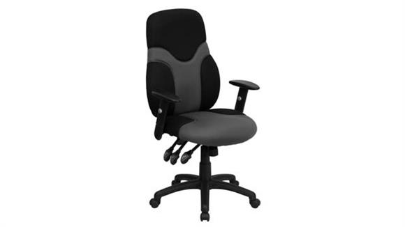 Office Chairs Innovations Office Furniture High-Back Swivel Chair with Adjustable Arms