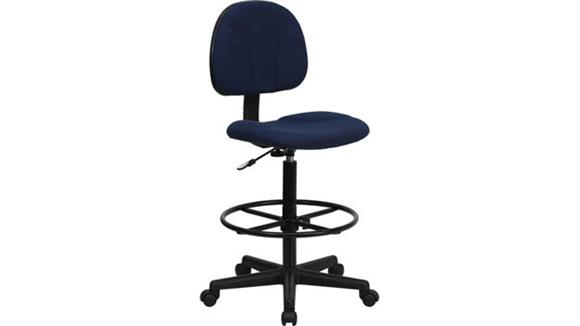 Drafting Stools Innovations Office Furniture Fabric Drafting Chair, Armless