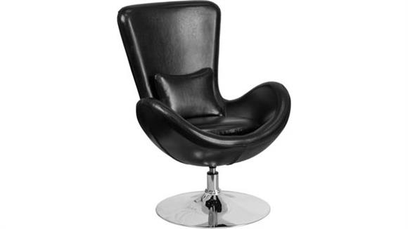 Side & Guest Chairs Innovations Office Furniture Leather Reception Chair