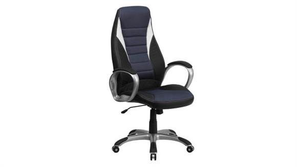 Office Chairs Innovations Office Furniture High-Back Swivel Chair with Arms
