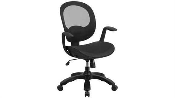 Office Chairs Innovations Office Furniture Mid-Back Mesh Swivel Task Chair with Arms
