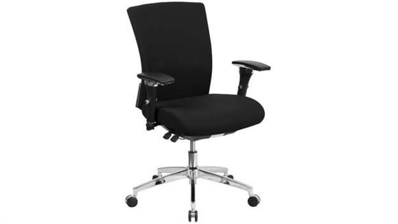 Big & Tall Innovations Office Furniture Big & Tall Mid-Back, Executive Swivel Chair