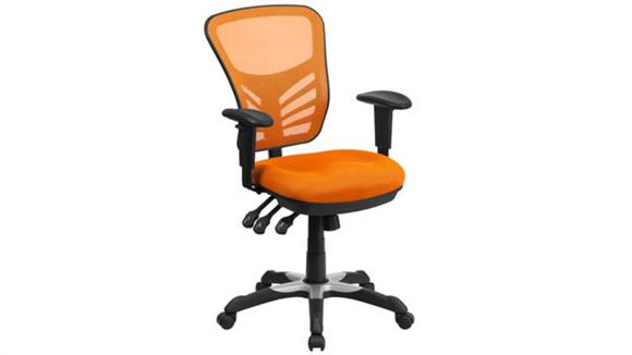 Office Chairs Innovations Office Furniture Mid-Back Mesh Executive Swivel Chair with Arms