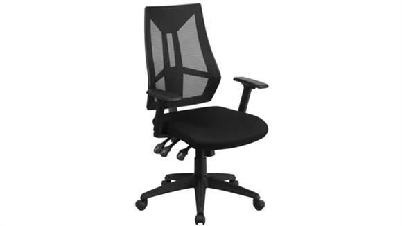Office Chairs Innovations Office Furniture High Back Multi-Function Task Chair with Arms