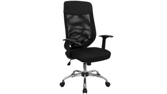 Office Chairs Innovations Office Furniture High-Back Executive Swivel Chair with Arms