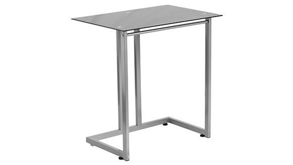 Computer Desks Innovations Office Furniture Black Tempered Glass Computer Desk