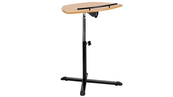 Laptop Desks & Stands Innovations Office Furniture Height Adjustable Natural Laptop Computer Desk