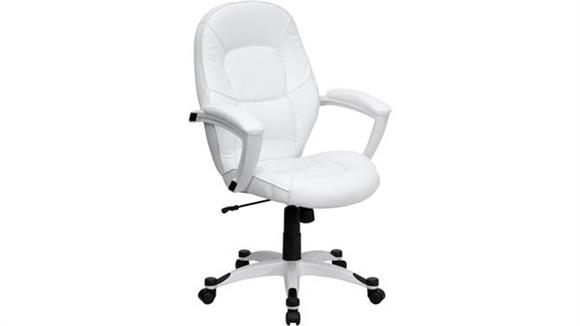 Office Chairs Innovations Office Furniture White Mid Back Executive Office Chair