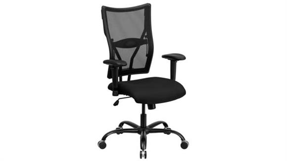 Office Chairs Innovations Office Furniture Big & Tall Mesh Executive Swivel Chair with Adjustable Arms