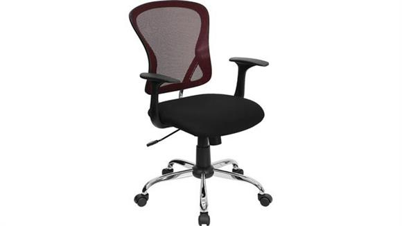 Office Chairs Innovations Office Furniture Mid-Back Mesh Swivel Chair with Arms