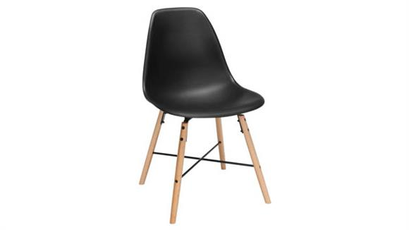 Dining Chairs OFM Plastic Dining Chair - 4PK