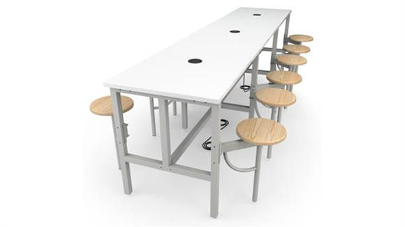 General Tables OFM Standing Height  12 Seat Table