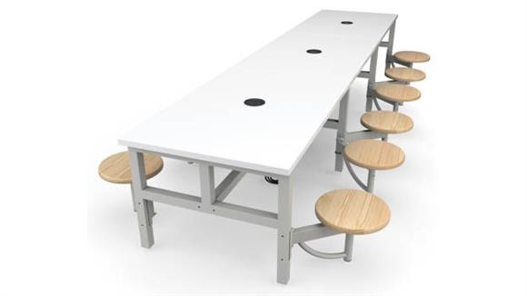 General Tables OFM Student Height 12 Seat Table