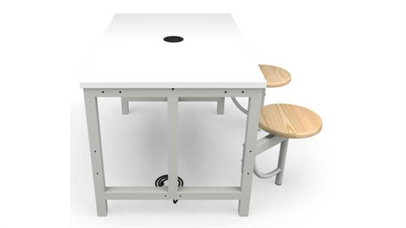 General Tables OFM Standard Height 2 Seat Table
