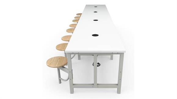 General Tables OFM Standard Height 8 Seat Table