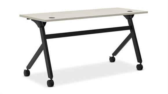 """Computer Desks OFM 60""""W Flip Base Table"""