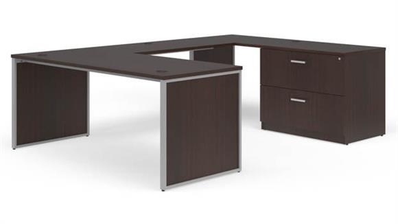"""U Shaped Desks OFM 72"""" U-Desk Set"""