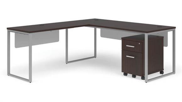 """L Shaped Desks OFM 72"""" L-Shaped Desk Set"""