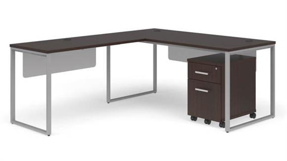 """L Shaped Desks OFM 66"""" L-Shaped Desk Set"""