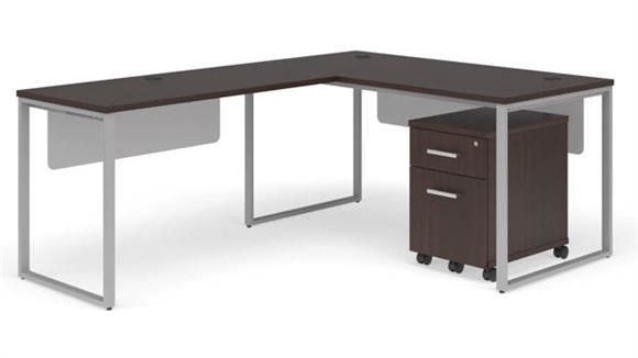 """L Shaped Desks OFM 60"""" L-Shaped Desk Set"""