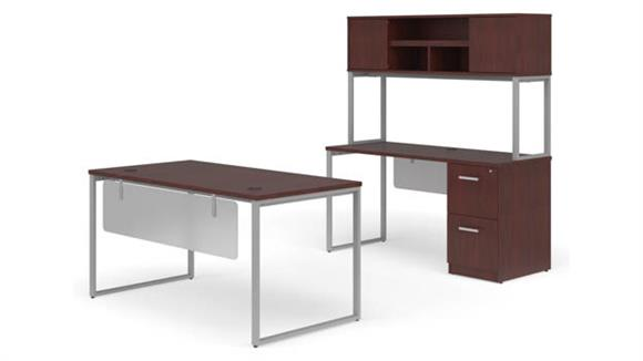 "Office Credenzas OFM 60"" Table Desk, 60"" Credenza Set"