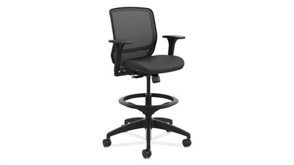 Office Chairs OFM Quotient Mid-Back Task Stool