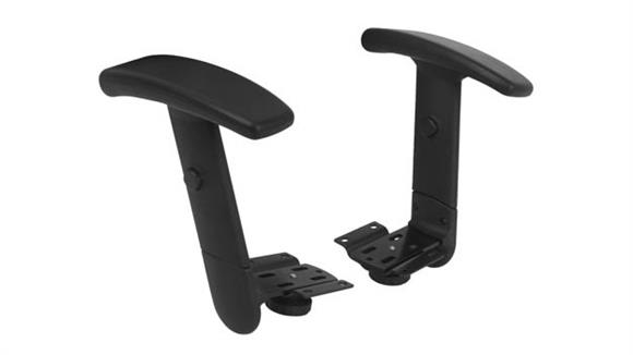 Chairs Parts & Accessories OFM Contemporary Arm Pack (Set of Two)