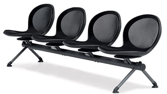 Side & Guest Chairs OFM Net Series 4 Seat Beam